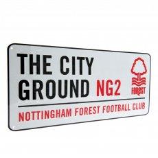 Nottingham Forest F.C. Street Sign