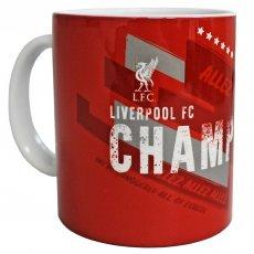 Liverpool F.C. Champions Of Europe Mug