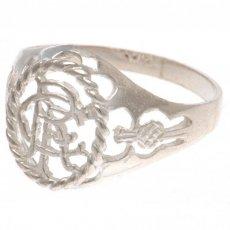 Rangers F.C. Sterling Silver Ring Medium