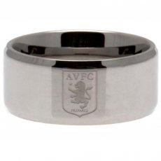 Aston Villa F.C. Band Ring Small