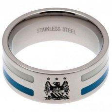Manchester City F.C. Colour Stripe Ring Large EC