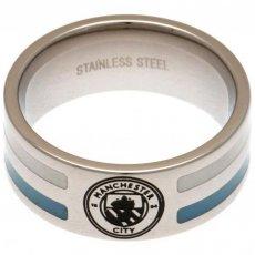 Manchester City F.C. Colour Stripe Ring Small