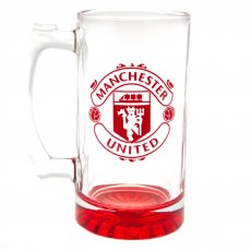 Manchester United F.C. Stein Glass Tankard