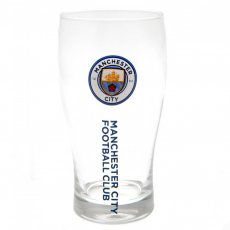 Manchester City F.C. Tulip Pint Glass