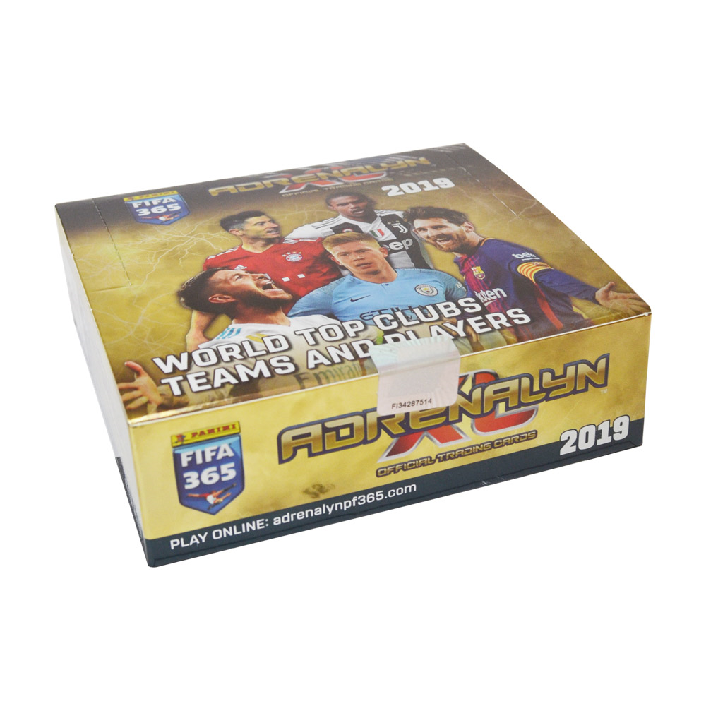 Panini Adrenalyn XL 2019 trading cards package