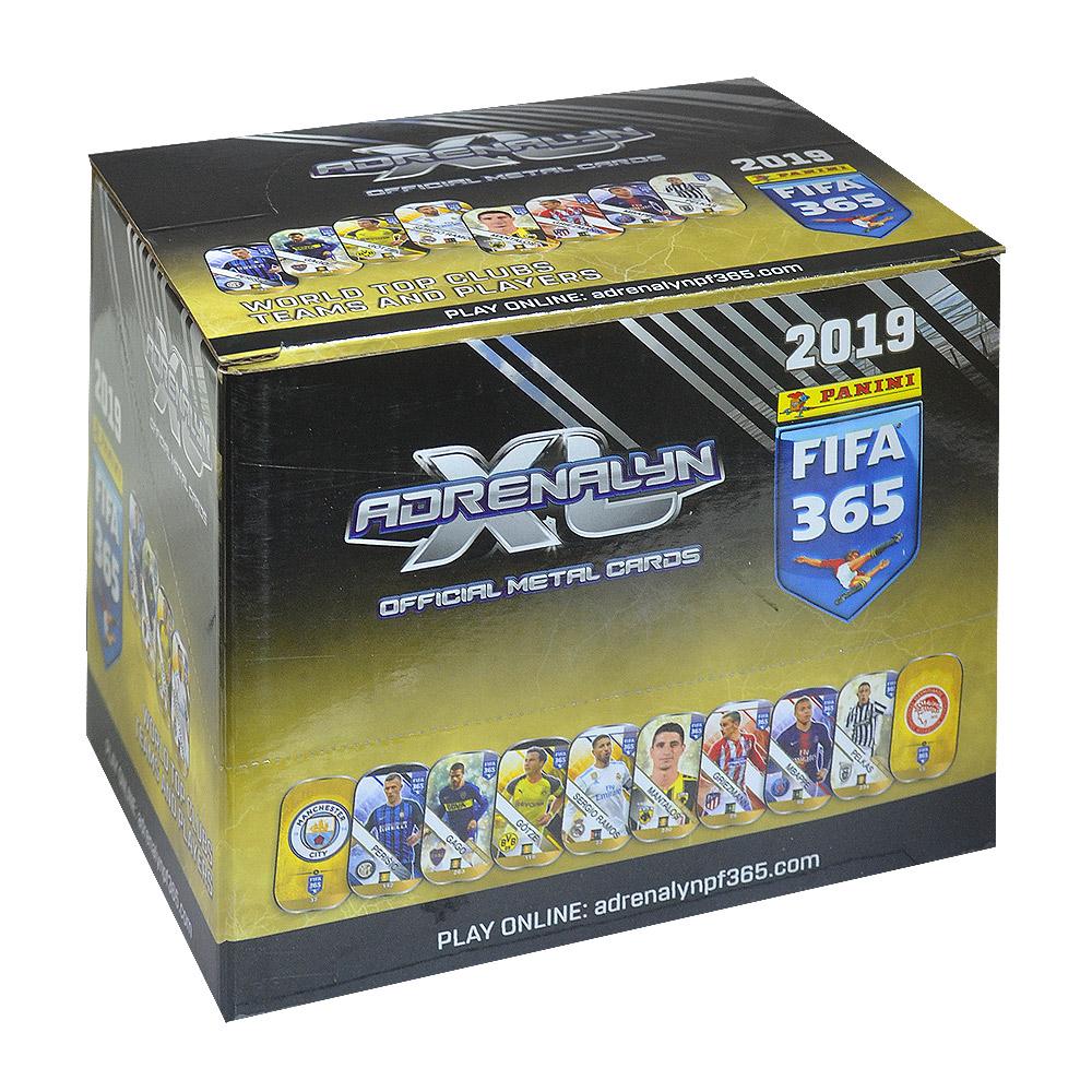 Panini Fifa365 2019 Adrenalyn metal cards package