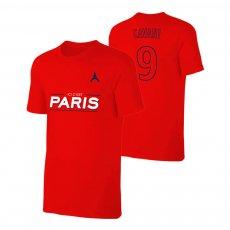 Paris Saint Germain ICI CEST t-shirt CAVANI, red
