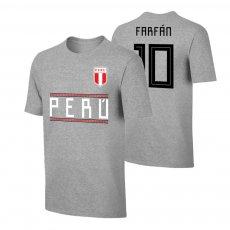 Peru WC2018 Qualifiers t-shirt FARFAN, grey