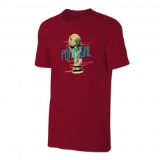 Portugal WC2018 Trophy t-shirt, crimson
