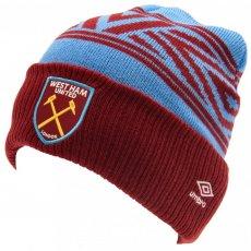 West Ham United FC Umbro Cuff Beanie