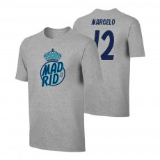Real Madrid Crown t-shirt MARCELO, grey