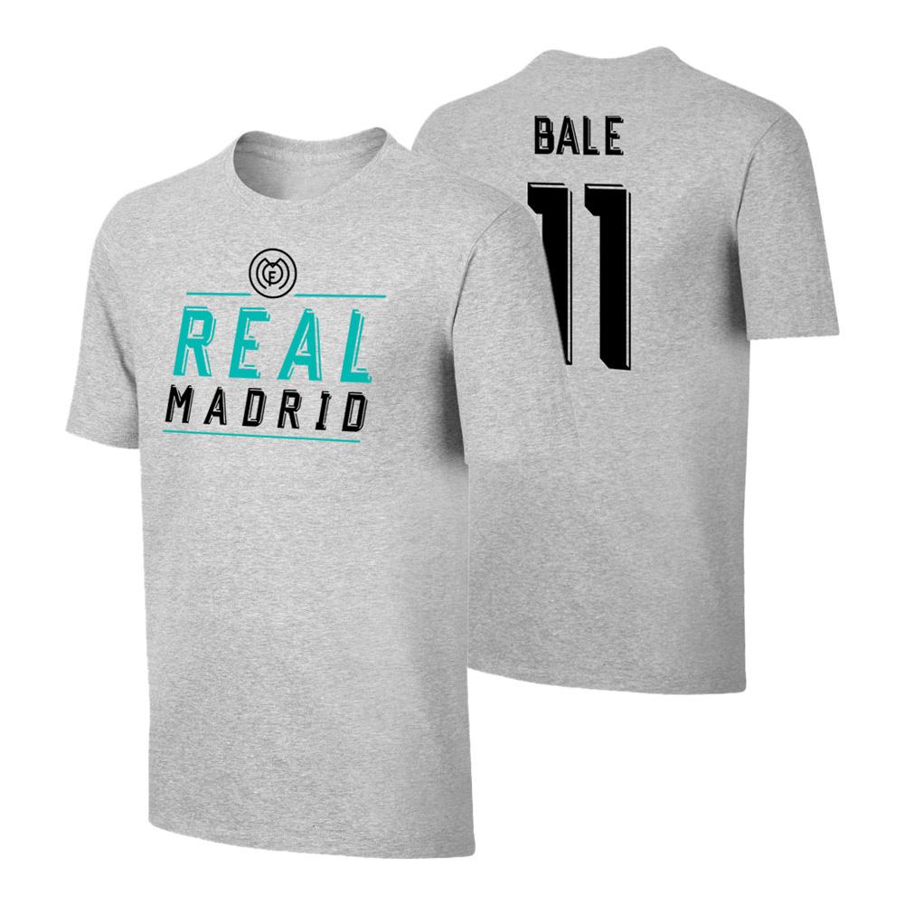 Real Madrid Emblem t-shirt BALE, grey