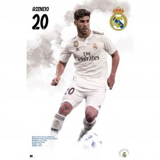Real Madrid F.C. Poster Asensio 57 (61 x 91cm)