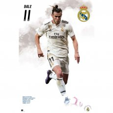 Real Madrid F.C. Poster Bale 58 (61 x 91cm)