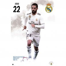 Real Madrid F.C. Poster Isco 59 (61 x 91cm)