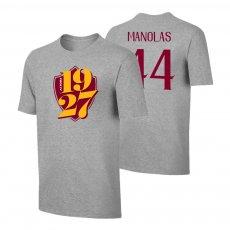 Roma 1927 t-shirt MANOLAS, grey