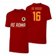 Roma Lupo t-shirt DE ROSSI, crimson