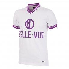 RSC Anderlecht 1973 - 74 Away Retro Football Shirt COPA, white