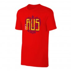 Russia WC2018 Round of 16 t-shirt, red