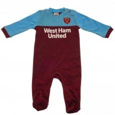 West Ham United F.C. Sleepsuit 0/3 mths ST