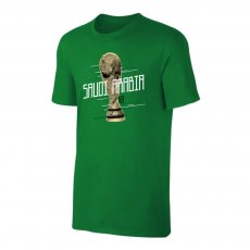 Saudi Arabia WC2018 Trophy t-shirt, green