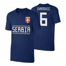 Serbia WC2018 Qualifiers t-shirt IVANOVIC, dark blue