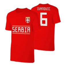 Serbia WC2018 Qualifiers t-shirt IVANOVIC, red