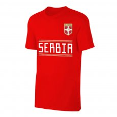 Serbia WC2018 Qualifiers t-shirt, red