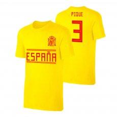Spain WC2018 Qualifiers t-shirt PIQUE, yellow
