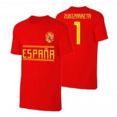 Spain WC2018 Qualifiers t-shirt ZUBIZARRETA, red