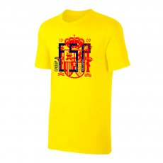 Spain WC2018 Round of 16 t-shirt, yellow