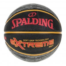 NBA EXTREME SGT Size 7 RUBBER BASKETBALL-GRAY/RED