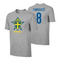 Sweden EU2020 'BLÅGULT' t-shirt TANKOVIC, grey