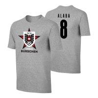 Austria EU2020 'UNSERE BURSCHEN' t-shirt ALABA, grey