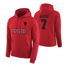 Manchester United Devil footer with hood ALEXIS, red