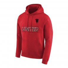 Manchester United Devil footer with hood, red
