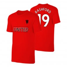 Manchester United Devil t-shirt RASHFORD, red
