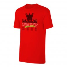 Manchester United Trophies t-shirt, red