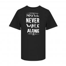St. Pauli You will never walk alone t-shirt, black