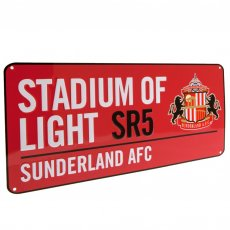 Sunderland A.F.C. Street Sign RD