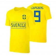Sweden WC2018 Qualifiers t-shirt LJUMGBERG, yellow