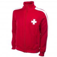Switzerland 1960s Retro Football Jacket