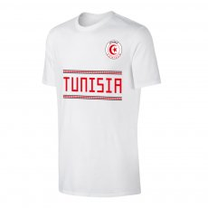 Tunisia WC2018 Qualifiers t-shirt, white