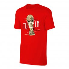 Tunisia WC2018 Trophy t-shirt, red