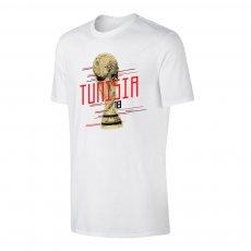 Tunisia WC2018 Trophy t-shirt, white