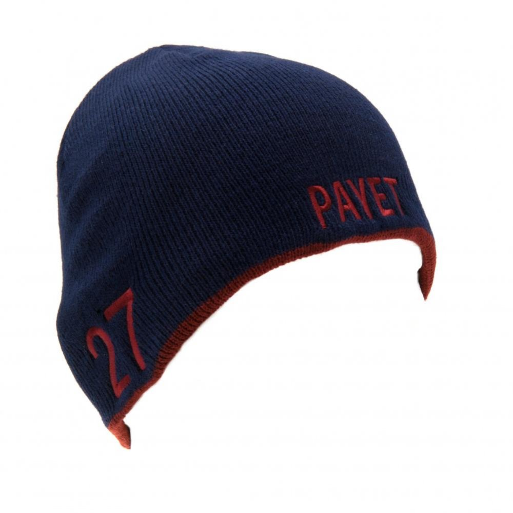 14ef5d3aba0cb West Ham United F.C. Knitted Hat Payet