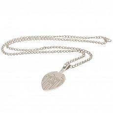Valencia C.F. Silver Plated Pendant & Chain