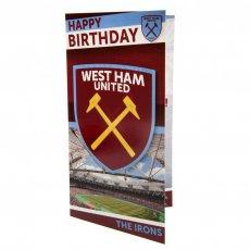 West Ham United F.C. Birthday Card