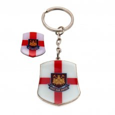 West Ham United F.C. Keyring & Badge Set SG