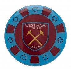 West Ham United F.C. Poker Chip Badge